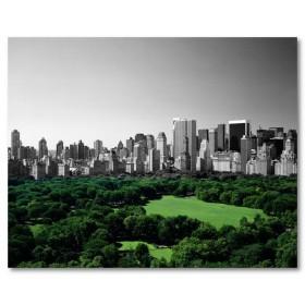 Αφίσα (Νέα Υόρκη, καλοκαίρι, Μανχάταν, μαύρο, λευκό, άσπρο)